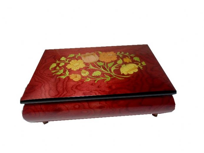 Inlaid Musical Jewellery Box from Shop 4 Music Boxes